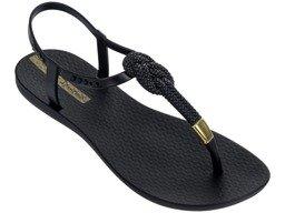 7a9a9bca21a7a Sandály Ipanema Fashion Sandal IV FEM black-gold (21117) | Dámské ...