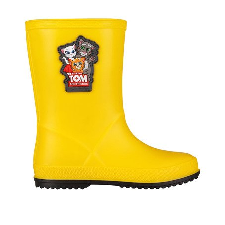 Holínky COQUI RAINY Talking Tom and Friends Mid Yellow/Antracit